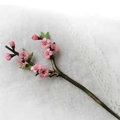 Chinese style hair stick/wood hair stick/flower hair by Yujintang