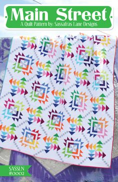 Main Street - PDF Quilt Pattern
