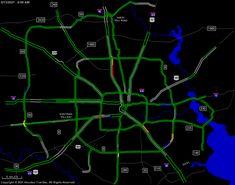Houston TranStar - Traffic Map Metro Rail, Texas Travel, Stars At Night, Houston, Map, Aquafaba, Southern, Treats, News