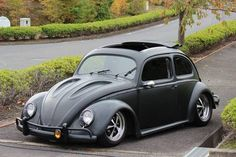 Custom ragtop sunroof VW Bug