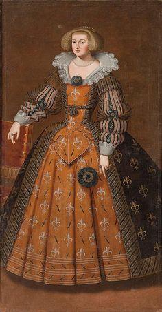 ANNE D'AUTRICHE, REINE DE FRANCE ET DE NAVARRE   by the lost gallery