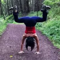 Forrest Yoga Twists and Forward Bends (Level 2; Diving Goddess & Frog Belly Down; 92 min)