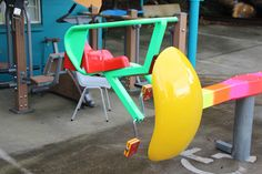 The Coaster seat, safe and easy for children to use Fitness Equipment, No Equipment Workout, Crazy Colour, Color, Powder Coating, Coasters, Workshop, Children, Easy