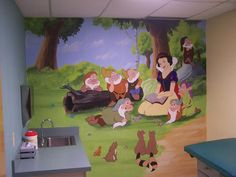pediatrician office design. different theme for each room. This is my dream job :)