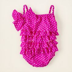 baby girl - swimwear - cha cha 1-piece swimsuit | Childrens Clothing | Kids Clothes | The Childrens Place
