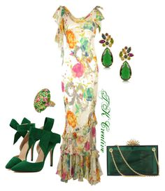 """""""A touch of emerald isle"""" by tmac-067 on Polyvore"""