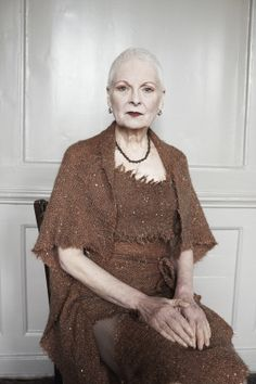 Vivienne Westwood. Photo by Juergen Teller. -Wmag