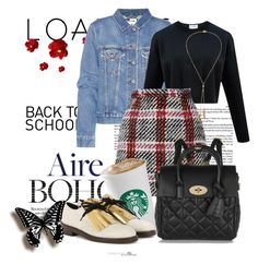 """""""Back to school"""" by jelena93 ❤ liked on Polyvore featuring Acne Studios, Marni, Mulberry and Bølo"""