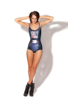Black Milk's new Vader swimsuit.