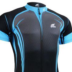 FIXGEAR CS-34K2 Men/'s Short Sleeve Cycling Jersey Bicycle Apparel Roadbike MTB
