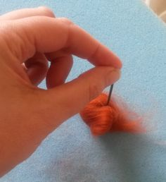 What is needle felting? Tutorial; intro to this amazing art