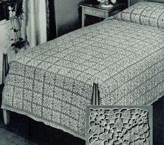 Traditional Bedspread Pattern