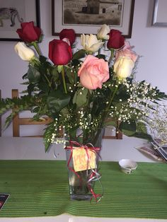 Pinners choice my beautiful roses from Ross I find them gorgeous and he is so so thoughtful