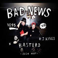 [MP3] BASTERD (바스터드) Bad News (Download Free MP3 HQ + Album Art) [K2Ost]