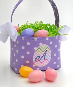 Personalized easter basketeaster by sassychicembroidery on etsy personalized easter basketeaster by sassychicembroidery on etsy easter pinterest easter negle Images