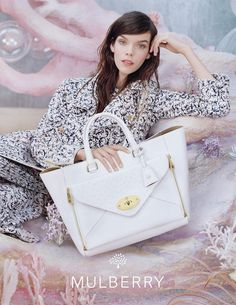 Mulberry Spring 2013  Meghan Collison photographed by Tim Walker.   Photos courtesy of Mulberry
