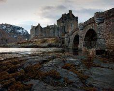 Os 33 lugares abandonados mais lindos que você já viu Castelo Eilean Donan