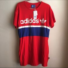 Adidas originals city tee dress Adidas originals city tee/tshirt dress. New with tags. Adidas Tops Tunics