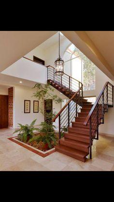 Tiniali Future House, Modern Staircase, Staircase Design, White Walls, House  Design,