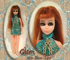 Vintage Dawn Doll - turquoise looks good on everyone