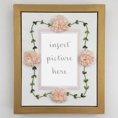 Items similar to The Iler Display Frame-Hand Embroidered Silk Ribbon Flower Picture Frame on Etsy Flower Picture Frames, Wood Picture Frames, Wedding Programs, Wedding Invitations, Creative Wedding Gifts, Birth Announcement Boy, Frame Display, Perfect Wedding, Anniversary Gifts