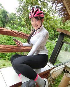 วางไมล์ พักผ่อนด้วยการออกปั่น ♀️ ชมธรรมชาติ ☔️ #eddymerckx #cnx #thailand #bike #cycling #teamangel #ilovebike
