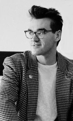 Morrissey of The Smiths ― photo by Terence Spencer (1985).