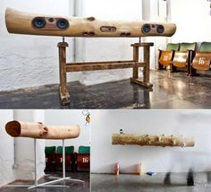 pick your tree trunk, and they will customize an iphone/ipod dock and speakers out of it according to your needs