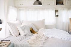 Basic camper to beautiful Glamper! Photos courtesy of http://www.today.com/home/see-family-s-rv-go-gloomy-glam-after-diy-makeover-t96521