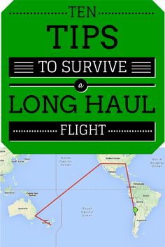 *10 Tips To Survive A Long Haul Flight*  Our constant travel taught of a few things on how to prepare for long haul overnight journeys. So here's some tips we'll pass along!