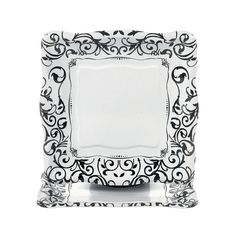 Black & White Wedding Plates - Dessert - OrientalTrading.com