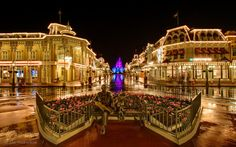 Main Street USA... There's a feeling of coming home when I see this view.