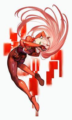 Zero Two - Darling in the FranXX #GG #anime