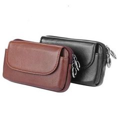 """Genuine Leather Universal Phone Pouch (5.5"""") For iPhone 6 Plus 6s Plus Belt Clip Holster For Samsung LG HTC Huawei Lenovo Case"""