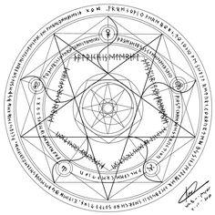 Magic Circle - 2 by white--paper