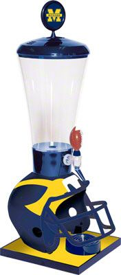Michigan Wolverines Beverage Dispenser - This is awesome