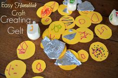 Already ate all the chocolate coins? Make your own gelt! Love this #Christmukkah idea from @Erica Cerulo • What Do We Do All Day?