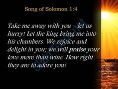 song of solomon 1 4 we will praise your love more powerpoint church sermon Slide03  http://www.slideteam.net/