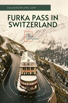 Did you know that Furka Pass hotel became famous after shooting a James Bond movie there? Explore majestic Furka Pass and enjoy stunning and windy roads. Places In Switzerland, Visit Switzerland, Hiking Guide, Travel Destinations, Travel Tips, Paragliding, Swiss Alps, Countries Of The World, World Traveler