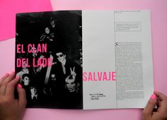 Hacedores del Mundo - Lou Reed on Editorial Design Served Graphic Design Books, Graphic Design Layouts, Book Design Layout, Print Layout, Graphic Design Typography, Graphic Design Inspiration, Design Design, Magazine Design, Editorial Design Magazine