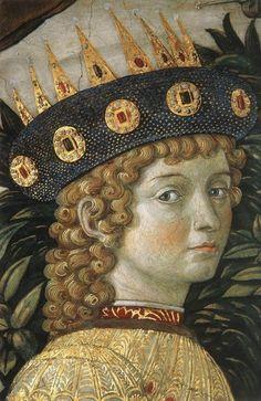 (306) 트위터 Lauren @elisa24102  10월 26일 번역 보기 Benozzo Gozzoli  Lorenzo de'Medici  Dett. Parete Est  Affresco Cappella dei Magi 1459-1461 Palazzo Medici Riccardi  Firenze