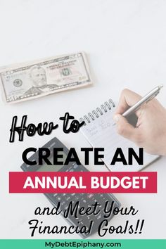 create an annual budget mydebtepiphany Frugal Living Tips, Frugal Tips, Budgeting Finances, Budgeting Tips, Financial Success, Financial Planning, College Student Budget, College Students, Ways To Save Money