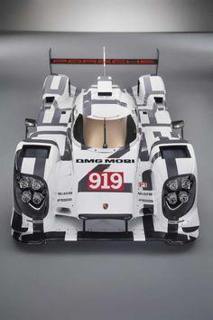 Porsche 919 Hybrid for 2014 Le Mans 24 Hours