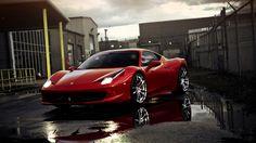 Ferrari 458 Italia Sports Cars HD Wallpaper