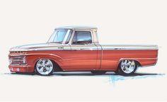 Pics Photos - Chip Foose Car Drawings