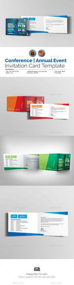 Business Event Invitation Card Template Business events, Card - invitation card format for conference
