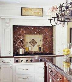 If you're looking to stretch your budget, or just unable to decide between tile options, choose them both: http://www.bhg.com/kitchen/backsplash/kitchen-backsplash-ideas-tile-backsplash/?socsrc=bhgpin041214multiplelayersoftile&page=4