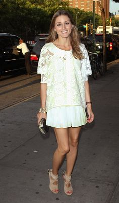 Pin for Later: Now You Can Finally Walk in Olivia Palermo's Shoes Olivia Palermo For Aquazzura