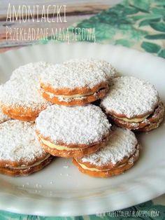 Polish Desserts, Polish Recipes, Baking Recipes, Cookie Recipes, Dessert Recipes, Pineapple Coconut Bread, First Communion Cakes, Christmas Baking, Sugar Cookies