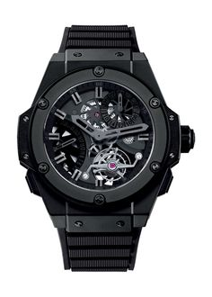 King Power Tourbillon GMT 48mm Complicated watch from Hublot